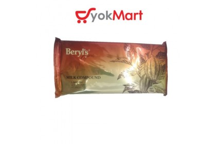 Beryl's Milk Chocolate Compound Block 1kg