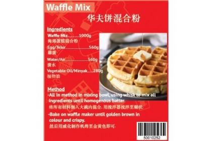 Waffle Cake Premix Flour 1kg
