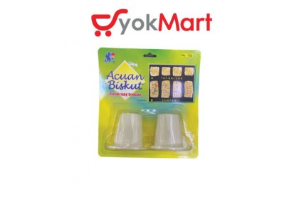 Acuan Biskut Cutter (2pieces) No.152