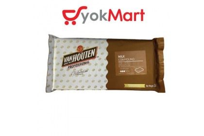 Van Houten Milk Chocolate Compound Block 1kg