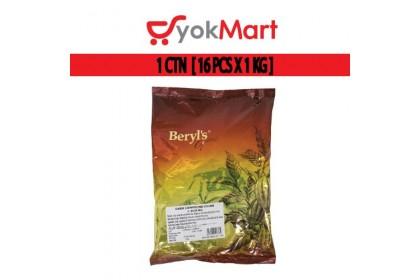1CTN [16 X 1kg] Beryl's Dark Chocolate Button Compound Coins Beryls Dark